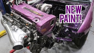 Download R33 Skyline Revealed! (BALLER PAINT) Video