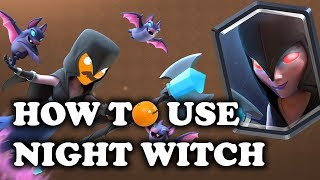 Download How to Use & Counter Night Witch   Clash Royale Video
