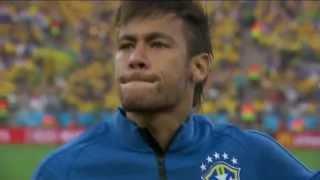 Download Torcida canta o hino junto com a seleção brasileira e emociona - Copa do Mundo FIFA Brasil 2014 [HD] Video