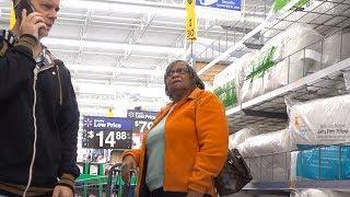 Download PARANOID PRANK - Freaking People Out At Walmart Video
