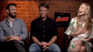 Download DAREDEVIL Season 3 interviews - Charlie Cox, Woll, D'Onofrio, Bethel, Ali, Whalley, Henson Video