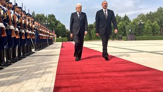 Download Baku - Mattarella incontra il Presidente Ilham Aliyev. Video