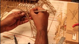 Download Making of Eiffel Tower with Bamboo Sticks - Bamboo Eiffel Tower Video