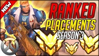 Download POTENTIAL TURBO NERD RAGE QUIT - OVERWATCH SEASON 3 MASTER PLACEMENTS! (Overwatch Competitive) Video