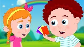 Download Colors Song   Learning Videos & Schoolies Nursery Rhymes for Kids Video