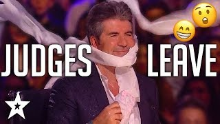 Download ANGRY AUDITIONS | When JUDGES LEAVE On Got Talent! | Got Talent Global Video