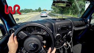 Download 2017 Jeep Wrangler Unlimited Manual - Tedward POV Test Drive (Binaural Audio and Puppy) Video