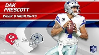 Download Dak Prescott's 3 TD Game vs. KC! | Chiefs vs. Cowboys | Wk 9 Player Highlights Video