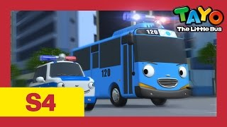 Download ⭐Tayo S4 #08⭐ Tayo becomes a police officer l Tayo the Little Bus l Season 4 Episode 8 Video