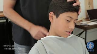 Download Soccer Player with Stuck Neck and Pain gets HELPED with Dr. Rahim Gonstead Chiropractor Video