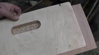 Download Фрезерный шаблон, для врезки ручек в раздвижные двери. Video
