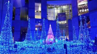 Download ★ 【CARETTA ILLUMINATION 汐留】CANYON D`AZUR〜藍色精靈之森燈光秀 Video