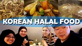 Download HALAL KOREAN FOOD Video