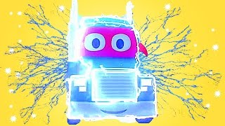 Download CARL the SUPER TRUCK is the CAMELEON TRUCK in CAR CITY | TRUCKS CARTOON for KIDS Video