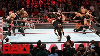 Download Braun Strowman earns controversial Tag Team Battle Royal win: Raw, March 13, 2018 Video