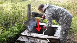 Download CAUGHT A TREASURE IN A DEEP WELL! AMAZING MAGNET FISHING! CrazySeeker! Video