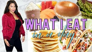 Download WHAT I EAT IN A DAY! START TO GETTING HEALTHY   NOT VEGAN & NOT HEALTHY BUT TRYING Video