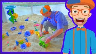 Download Blippi Plays at the Children's Museum | Learn Colors for Toddlers Video