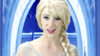 Download Disney Frozen Elsa Let it Go - In Real Life Video