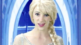 Download Disney Frozen Elsa Let it Go - In Real Life Video