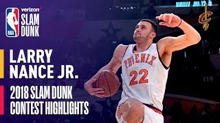 Download Larry Nance, Jr. ALL DUNKS from 2018 Verizon Slam Dunk Contest Video