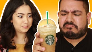 Download Latinos Try The Horchata Frappuccino Video
