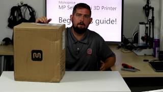 Download Monoprice Select Mini 3D Printer Beginner's Guide (Part 1) - Unboxing Video