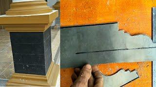 Download Cara membuat cetakan/mal profil beton dari pipa pralon Video
