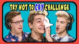 Download YouTubers React To Try Not To Cry Challenge #3 Video