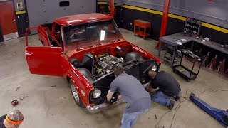 Download Lowering A 1971 Chevy C10 - Truck Tech S3, E7 Video