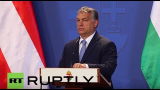 Download Hungary: ″We do not need a single migrant″ says PM Orban Video