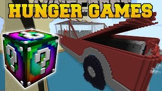 Download Minecraft: CAR CRASH HUNGER GAMES - Lucky Block Mod - Modded Mini-Game Video