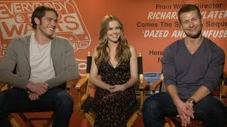Download Ryan Guzman, Zoey Deutch and the Cast of 'Everybody Wants Some!!' Play Would You Rather Video