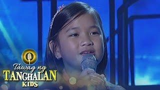 Download Tawag ng Tanghalan Kids: Kate Campo | Hulog Ng Langit Video