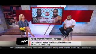 Download Daniel Cormier: ″Almost everything is fake about Jon Jones. It's very sad.″ - Sportsnation 8/5/14 Video