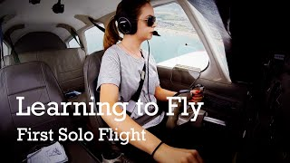 Download Beth's first solo flight with Sussex Flying Club Video