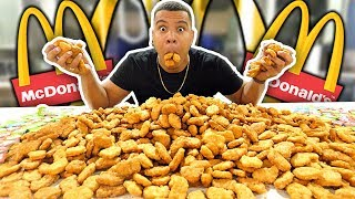 Download INSANE 1000 MCDONALD'S CHICKEN NUGGETS CHALLENGE (IMPOSSIBLE) *200,000 CALORIES* Video