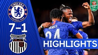 Download Chelsea 7-1 Grimsby Town   Hudson-Odoi, James and Barkley Score In 8 Goal Thriller 🔥  Highlights Video
