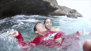 Download Markyʻs laie point jump....What he didn't know..lol Video