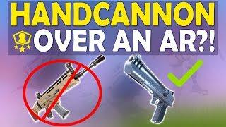 Download HANDCANNON OVER AR IN SOLO SHOWDOWN | DEAGLE FUN | HIGH KILL FUNNY GAME- (Fortnite Battle Royale) Video