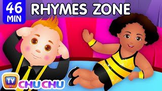 Download Head, Shoulders, Knees and Toes | Popular Nursery Rhymes Collection for Kids | ChuChu TV Rhymes Zone Video