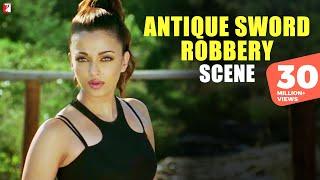 Download Scene: Dhoom:2 | Antique Sword Robbery | Hrithik Roshan | Aishwarya Rai Video