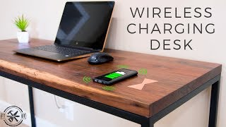 Download How to Make a Desk with Hidden Wireless Charging Video