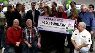 Download Tenn. Co-Workers Split $421M Powerball Jackpot Video