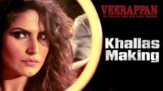 Download KHALLAS Song Making - Veerappan | Hindi Movie 2016 | Zarine Khan | Shaarib & Toshi Video
