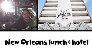 Download Can We Eat It All?! New Orleans Po' Boys & Hotel | Land & Sea Vacation Vlog Day 2 [ep5] Video