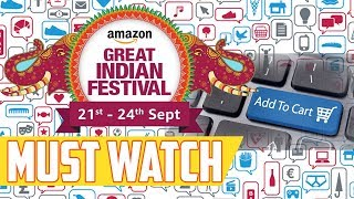 Download Get All Amazon Great Indian Festival Sale Deal's Before Everyone Else | Tech Notification Video