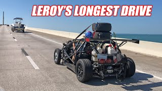 Download STREET DRIVING Leroy an Hour to the Dragstrip... Attempting to Race and Drive Home! +the V1 Breaks.. Video