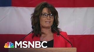 Download Sarah Palin's Donald Trump Speech: 'Worse Than A Train Wreck' | Morning Joe | MSNBC Video