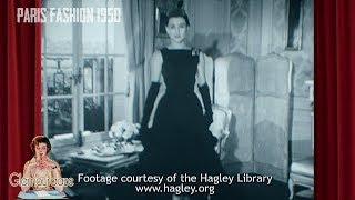 Download Paris Fashion 1950 Video